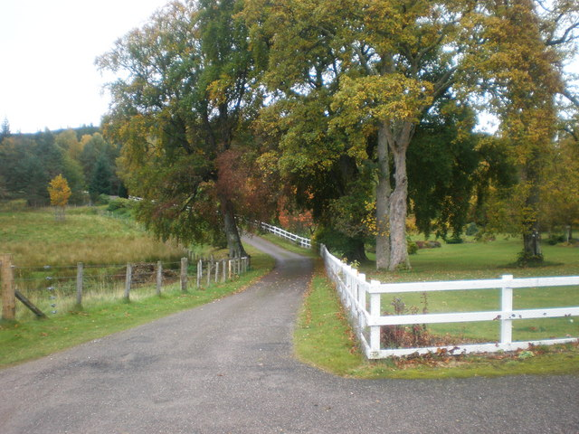 Drive from Moy Church to B9152