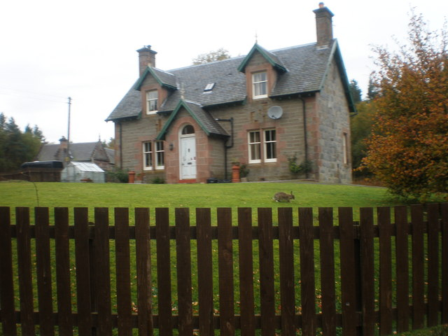 Station House by Moy railway Station