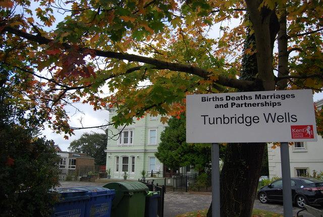 Tunbridge Wells Registry Office, Grove Hill Rd