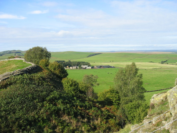 View from Hadrian's Wall
