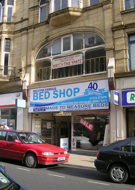 Melvyns Famous Bed Shop - Darley Street