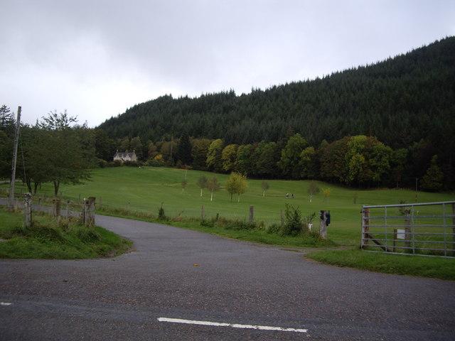 Entrance to Aigas golf course
