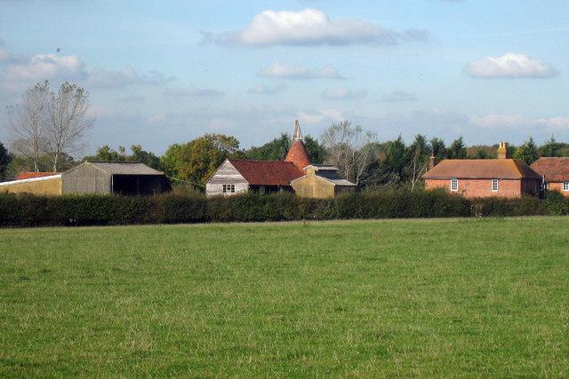 Oast House at Little Hookstead Farm, High Halden, Kent