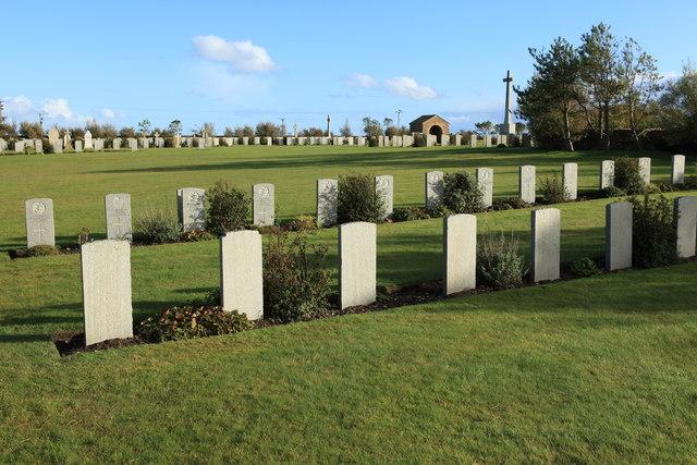German graves at Lynes Naval Cemetery