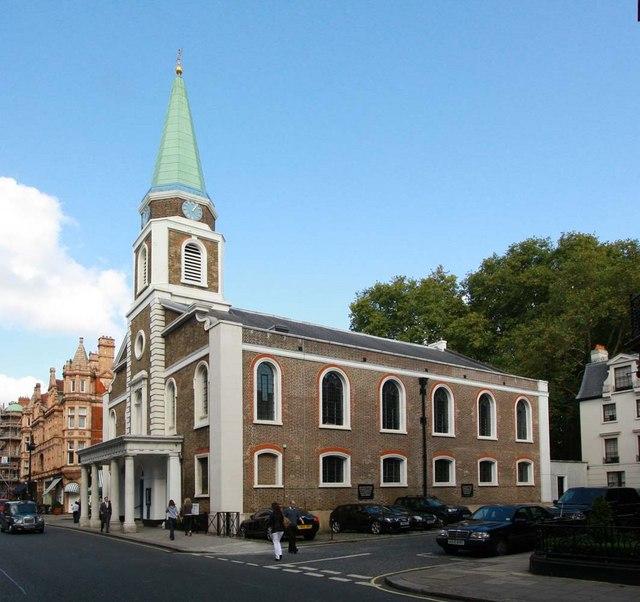 Grosvenor Chapel, South Audley Street, London W1