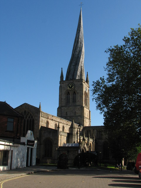 Parish Church at Chesterfield