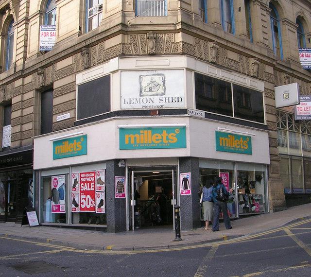 Millets - Darley Street