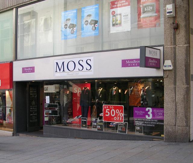 Moss Bros - Darley Street