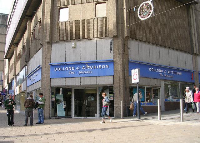 Dollond & Aitchison - Darley Street