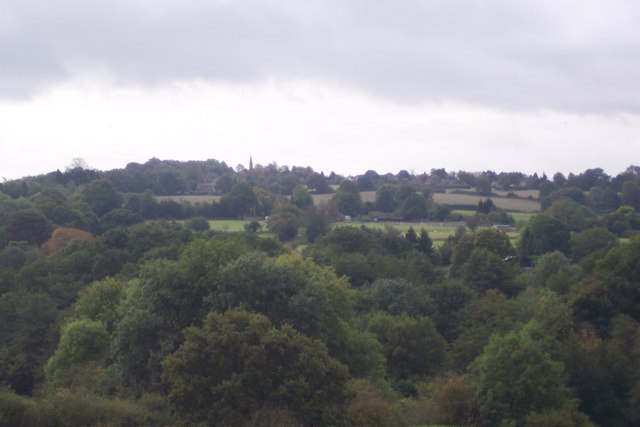 View towards Ide Hill