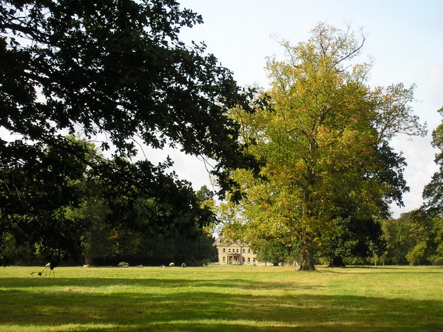 The Grounds of Clipsham Hall