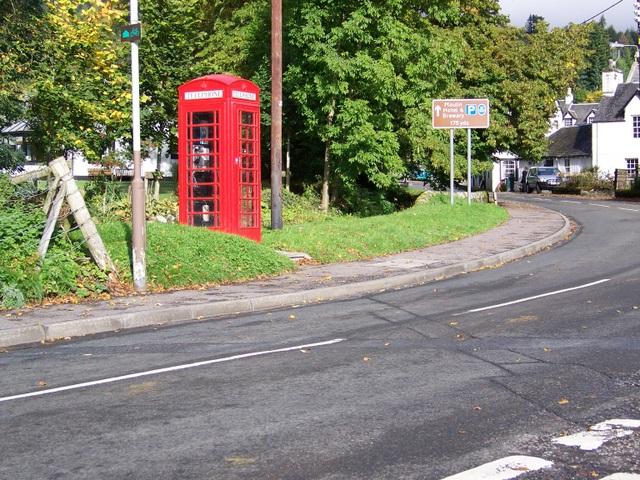 Telephone box, Moulin