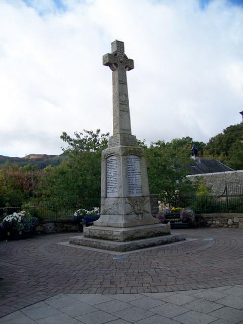 War Memorial, Pitlochry