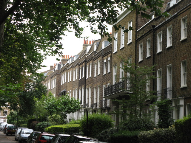 Grove Terrace, off Highgate Road, NW5