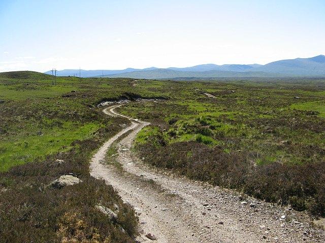 Track, Rannoch Moor