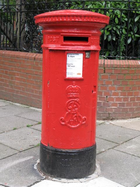 Edward VII postbox, Lissenden Gardens, NW5