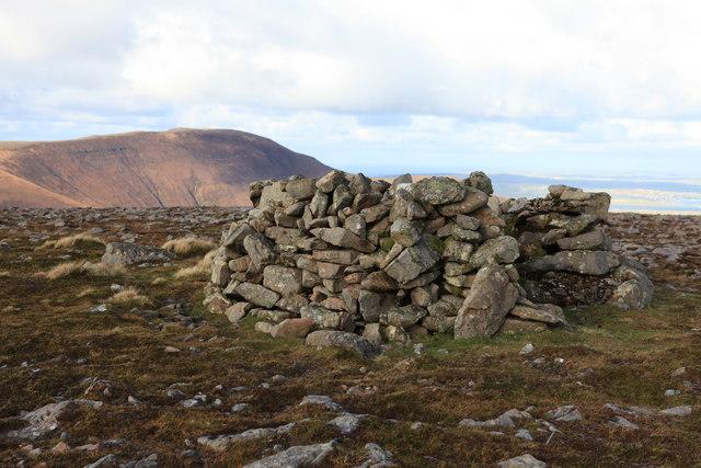 Summit cairn of Knap of Trowieglen