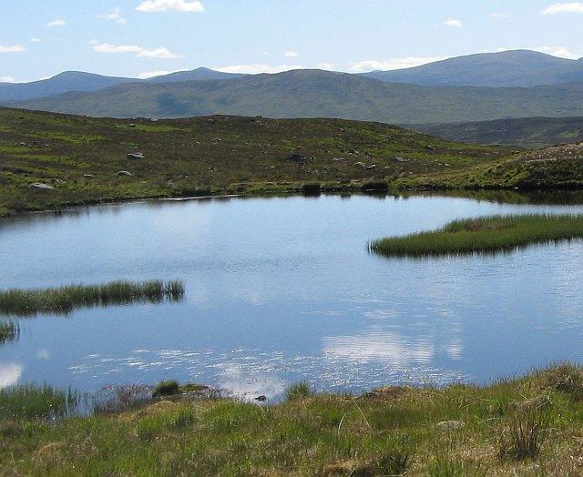 Lochan on Rannoch Moor
