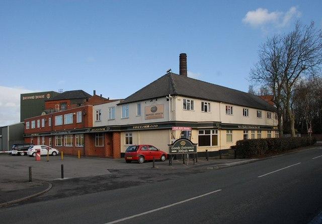Burtonwod Brewery