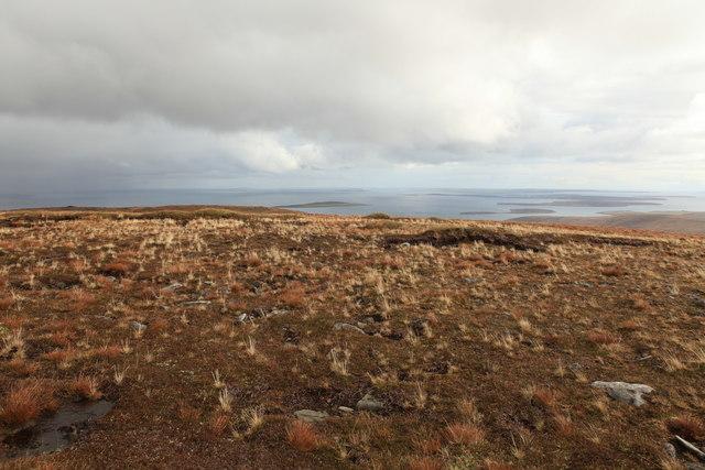 Kingie Lang above Scapa Flow