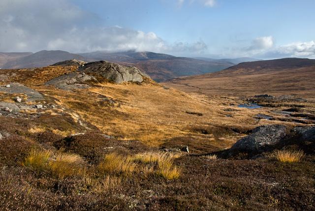 Summit of Creagan nan Gabhar