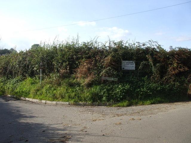 Junction of  Graig-Llwyn Rd and Cefn-Porth Rd, Cardiff