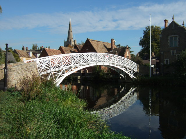 The Chinese bridge in Godmanchester