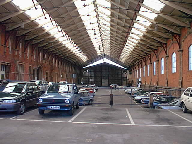 Brunel's original station at Temple Meads