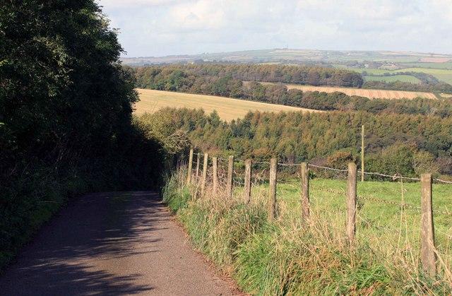 Steep hill ahead