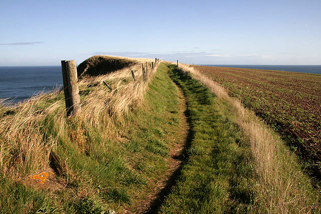 The Berwickshire Coast Path
