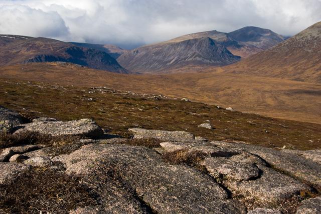 Pt 744 metres on the ridge from Sgor Mor to Sgor Dubh