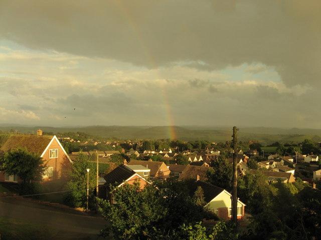 Rainbow over Waun Fawr