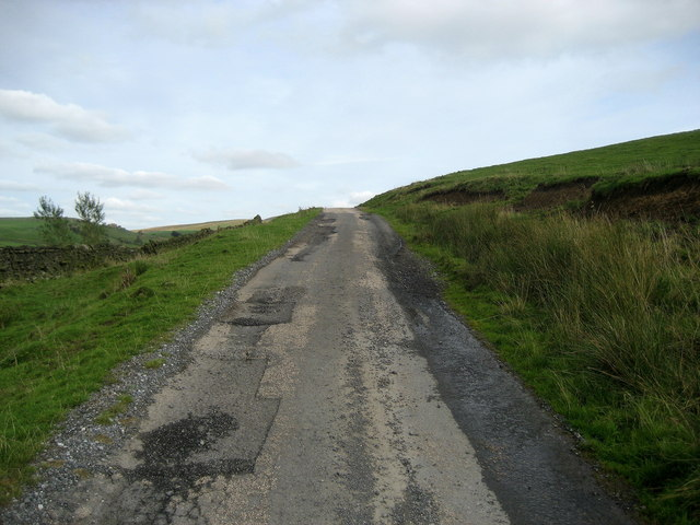Access Lane on Bonfire Hill