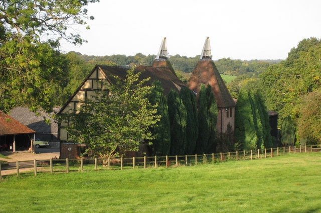 Oast House at Old Weavers Cottages, Frame Farm, Iden Green Road, Iden Green
