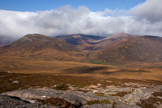Pt 744 metres on the ridge from Sgor Mor to Sgor Dubh - 3