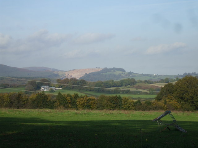 View from Cefn-Porth Rd, Cardiff