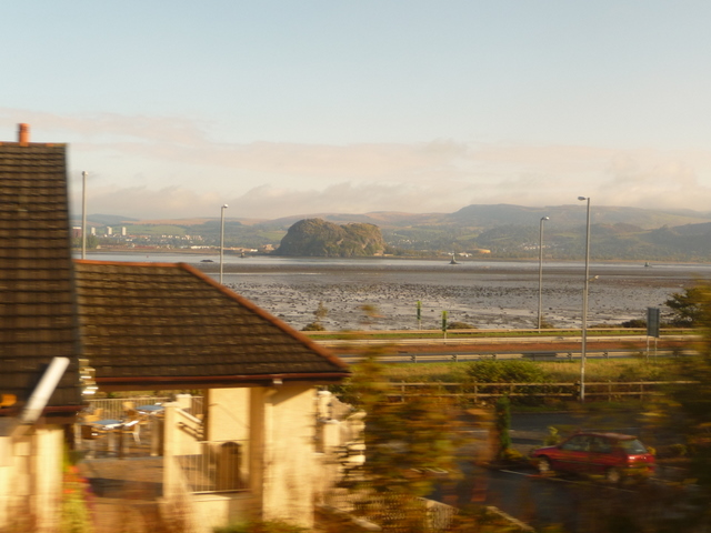 Langbank: view from the train
