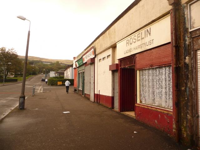 Greenock: James Watt Dock Post Office and neighbours