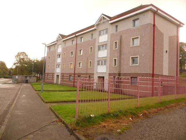 Greenock: disused flats await their fate