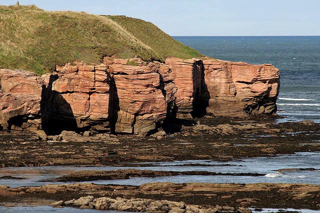 Cliffs at Magdalene Fields