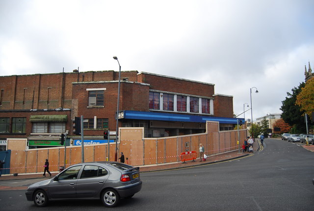 The former Odeon Cinema
