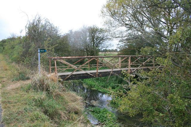 Footbridge over the Great Brook