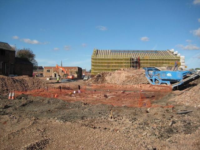 Redevelopment site in Worcester