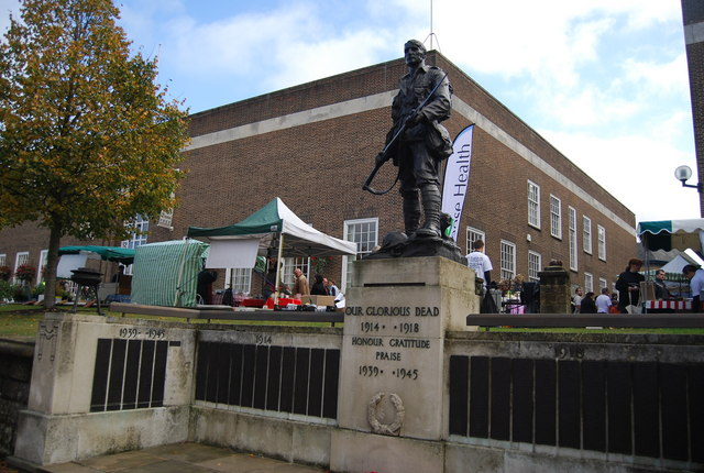 The War Memorial, Tunbridge Wells