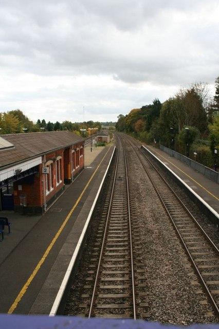 Train is long gone
