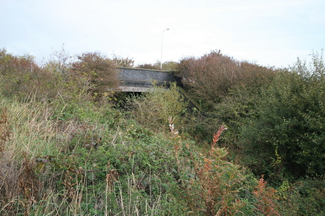 Road Bridge Over Disused Railway