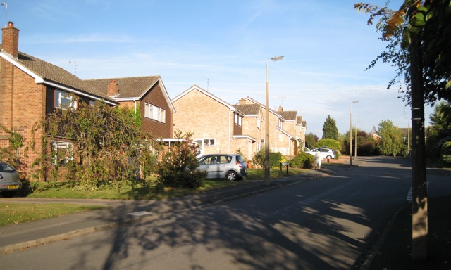 Borrowdale Drive, Beverley Hills estate, Leamington Spa