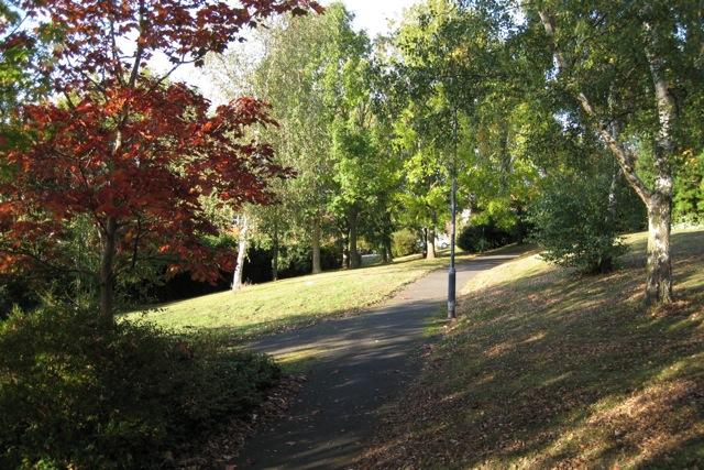 Pocket park, Beverley Hills estate, Leamington Spa