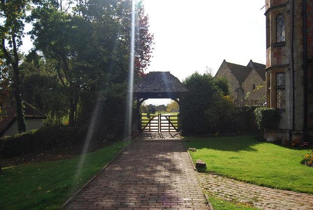 Lych Gate, Leigh Church