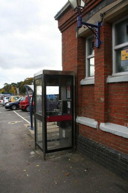Phone box on the corner